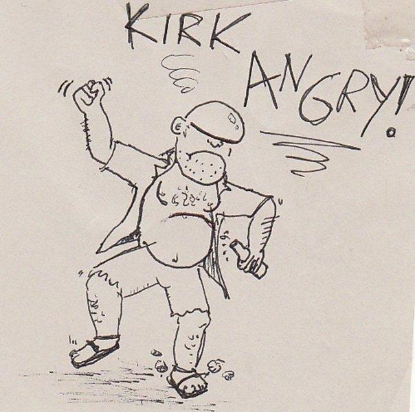 Kirk Angry! sketch