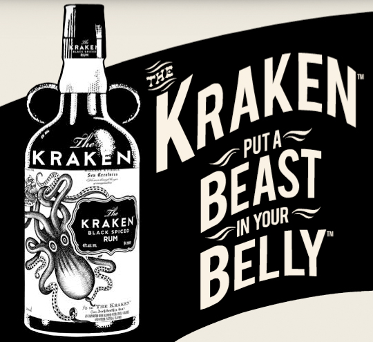 The Kraken Rum - put a beast in your belly
